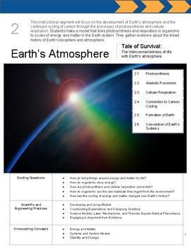 The Living Earth: Instructional Segment 2 (Blank Planning Book)
