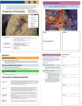 The Living Earth: Instructional Segment 3 (Blank Planning Book)