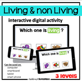 The Living & non Living interactive digital activity (dist
