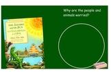 The Lizard and the Sun SmartBoard Comprehension File