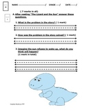 The Lizard and the Sun by Alma Flor Ada - Reading Comprehension Quiz/Test