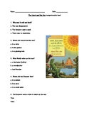 The Lizard and the Sun comprehension quiz