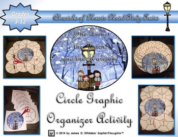 The Lion, the Witch, and the Wardrobe Narnia Circle Graphic Organizer Activity