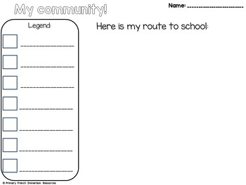 The Local Community - Grade 1 English Social Studies Unit