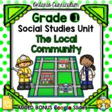 The Local Community – Grade 1 Social Studies Unit