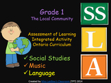 The Local Community Integrated Activity {Music, Social Studies, Language}
