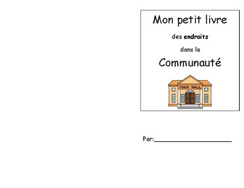 The Local Community - Place Book FRENCH