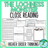 The Loch Ness Monster Traditional Literature Comprehension Passages & Questions