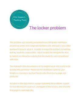 The Locker Problem