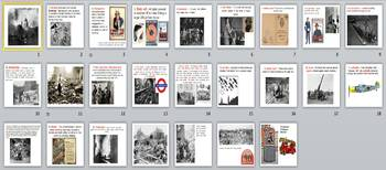 The London Blitz World War Two Activity Pack