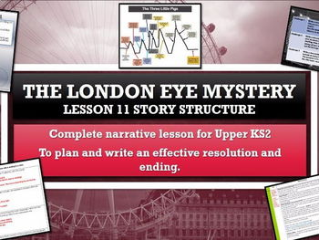The London Eye Mystery - Lesson 11 - Writing an effective resolution and ending