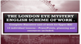 The London Eye Mystery - complete scheme of 14 lessons