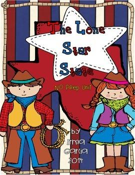 The Lone Star State a No Prep Texas Unit