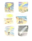 The Lonely Little Sea Shell Sequence Cards