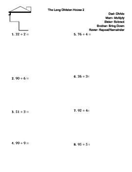 The Long Division House Homework 2