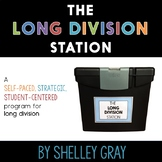 The Long Division Station: self-paced, student-centered