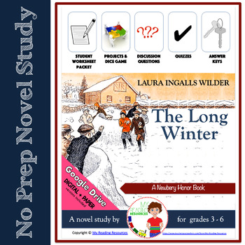 The Long Winter by Laura Ingalls Wilder Novel Study