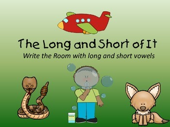 The Long and Short of It:  Write the Room with Long and Sh