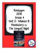 The Longest Night Readygen Grade 4 Vocabulary