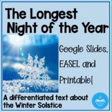 Differentiated Non-fiction text on the Winter Solstice - G