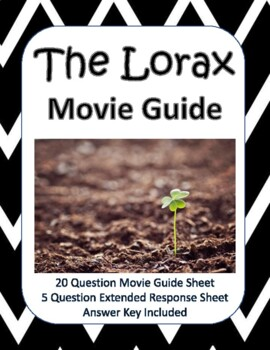 The Lorax 2012 Movie Guide New Product By Claire Of The Northern Forest