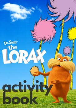 The Lorax Activity Book & Earth Day Activities EARTH DAY SALE