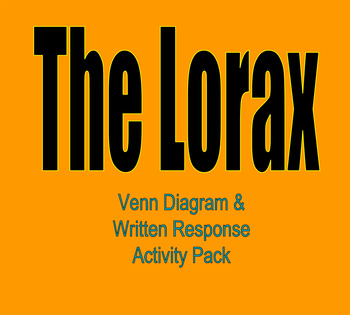 The Lorax Activity Pack