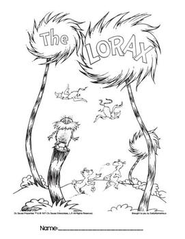 The Lorax - Book Study
