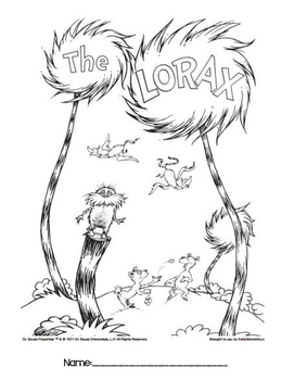 The Lorax - Book Study
