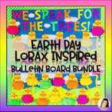 EARTH DAY Bulletin Board The Lorax Companion Lesson - Craft Writing Templates