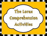 The Lorax Comprehension Activities