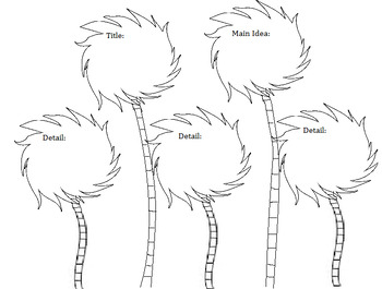 The Lorax Comprehension Truffula Trees By Owl About First Grade Tpt