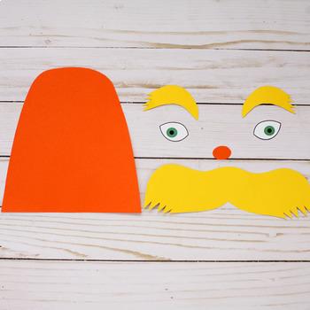 The Lorax Craft - Dr Seuss Craft