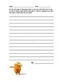 The Lorax Creative Writing