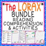 The Lorax Dr. Seuss BUNDLE Book Study, Comprehension, Quizzes, Activities