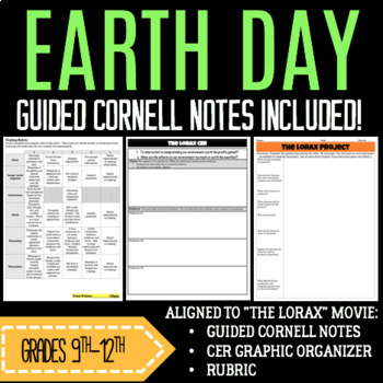 The Lorax Earth Day Project