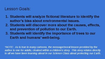 The Lorax Environmental Science Lessons