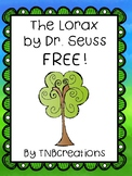 The Lorax FREE Worksheets