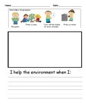 The Lorax Inspired Writing Prompt: How do we help the envi