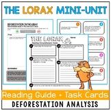 The Lorax Mini-Unit: Reading Comprehension Guide with Extension Activities