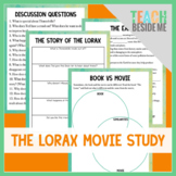 The Lorax Movie or Book Study