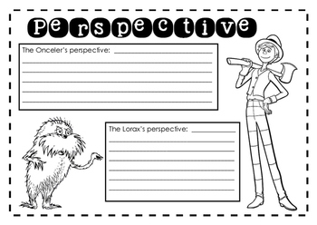 The Lorax - Perspective activity