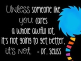 The Lorax Quote (FREEBIE)