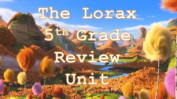 The Lorax Review Unit