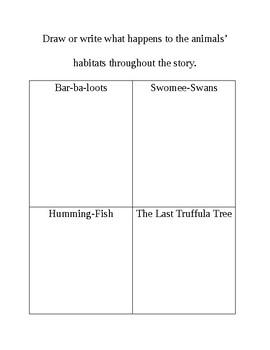 The Lorax Science Notebook FREEBIE