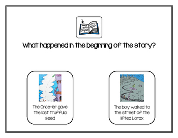 The Lorax Shared Reading