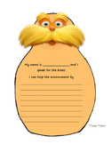 The Lorax Writing Activity