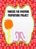 Thneeds for Everyone. Proportions Project with Lorax Connections
