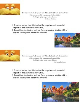 The Lorax and the Industrial Revolution