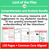Lord of the Flies – Comprehension and Analysis Bundle